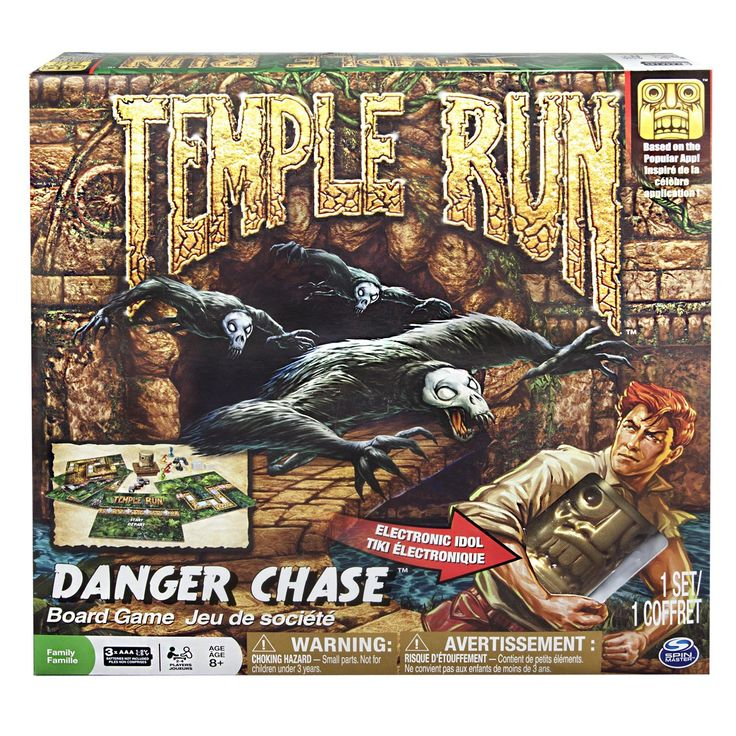 Temple Run Danger Chase Board Game Toys