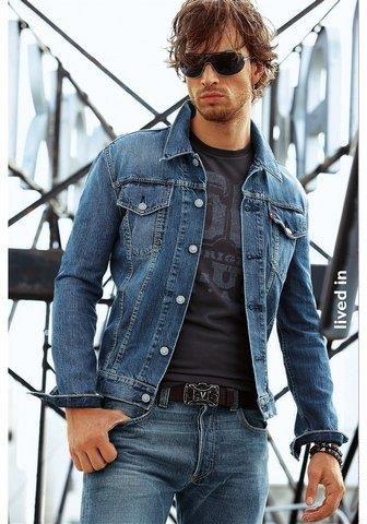 Каталог джинсовых мужских костюмов
