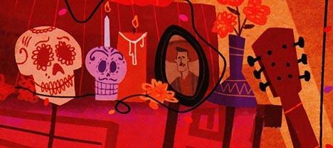 Primeras imágenes de las próximas películas de Pixar una película basada en la festividad del día de muertos en México