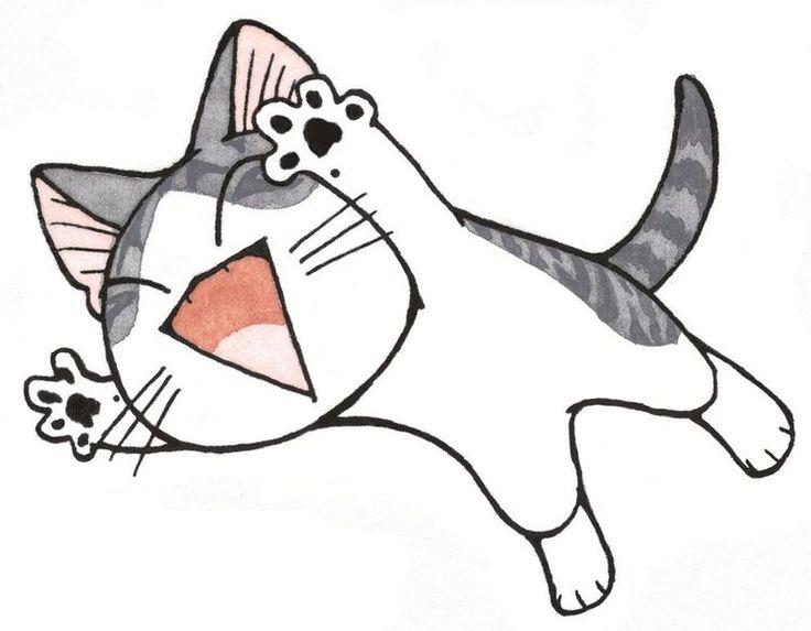 Les 25 meilleures id es de la cat gorie dessin de chat facile sur pinterest facile dessiner - Dessin de chat facile a dessiner ...