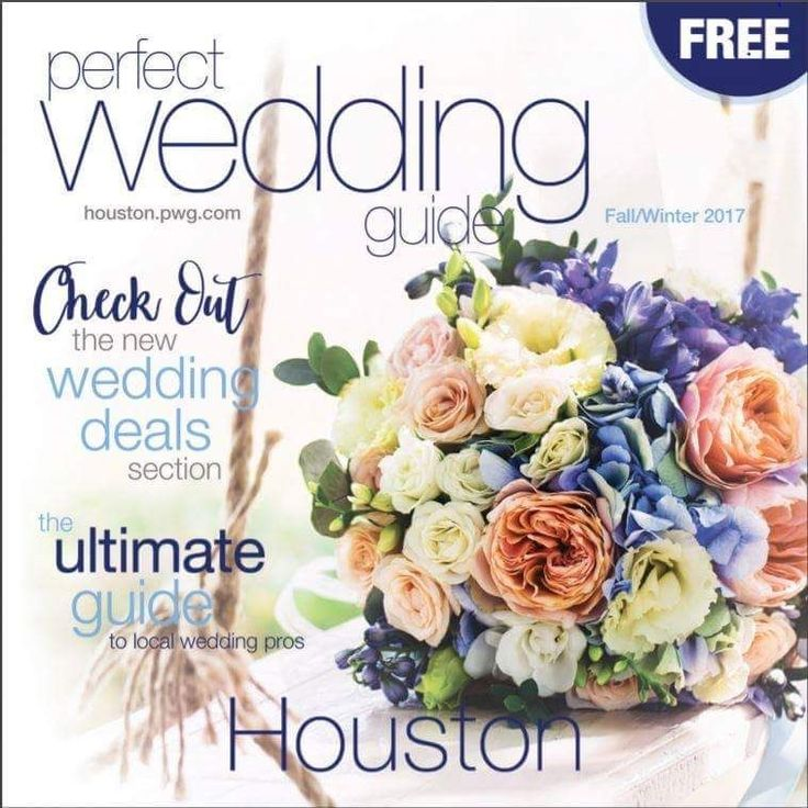 Our Fall/ Winter Perfect Wedding Guide has been hugely successful!  Brides attending our February 18th Dream Weddings Bridal Show at the Woodlands Waterway Marriott will receive a complimentary issue in their swag bag.  For ticket information click on the link in our bio!  #houstonpwg #perfectweddingguide #dreamweddingsbridalshow #houston #houstoncouples #texas #thewoodlands #springtexas #conroetx #bridalshow #Dreamwedding #bridalmagazine
