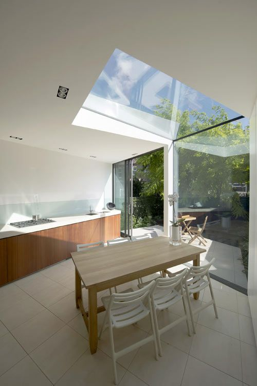 faceted house in london by paul mcaneary architects via design milk