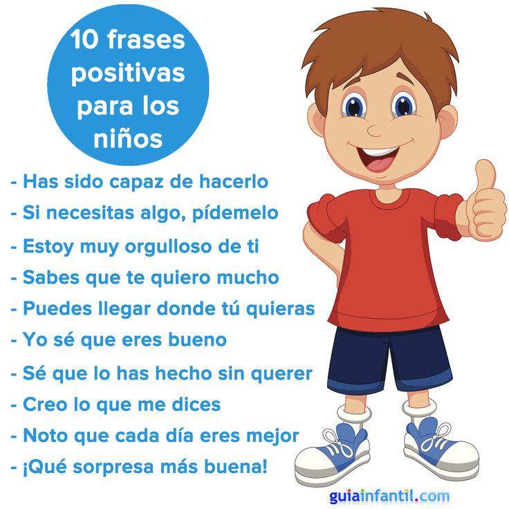 Frases positivas para motivar a tu hijo. http://www.guiainfantil.com/189/frases-positivas-para-motivar-a-tu-hijo.html