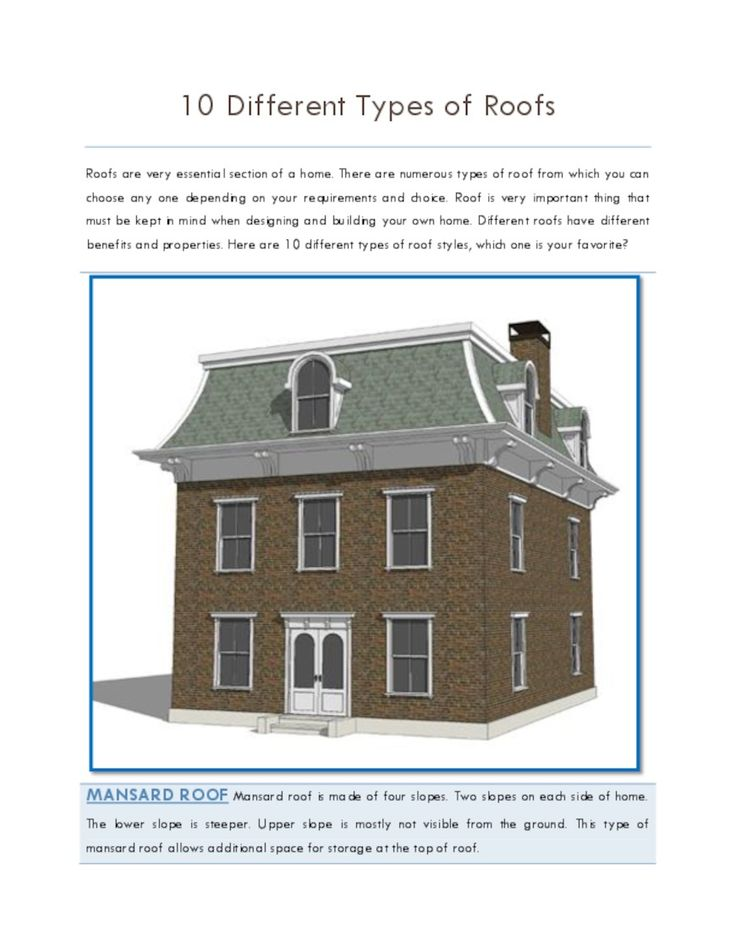 87 best roof architectures or styles images on pinterest for What kind of roof do i have