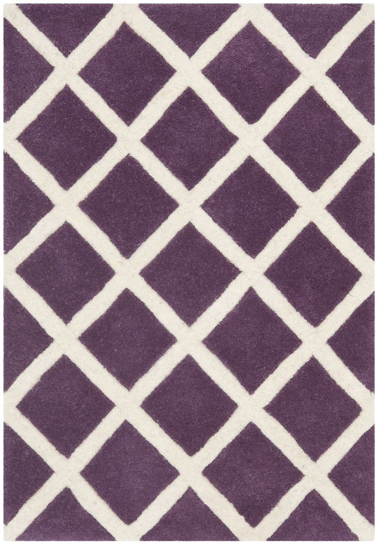 Purple Rugs With Geometric Patterns   Purple Bedroom Ideas #Purple #Rug