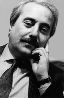 Giovanni Falcone (1939-1992), anti-Mafia judge in Palermo, Sicily, murdered by the Mafia in 1992.