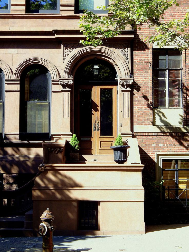 Wandering New York, A house on the Upper West Side, Manhattan.