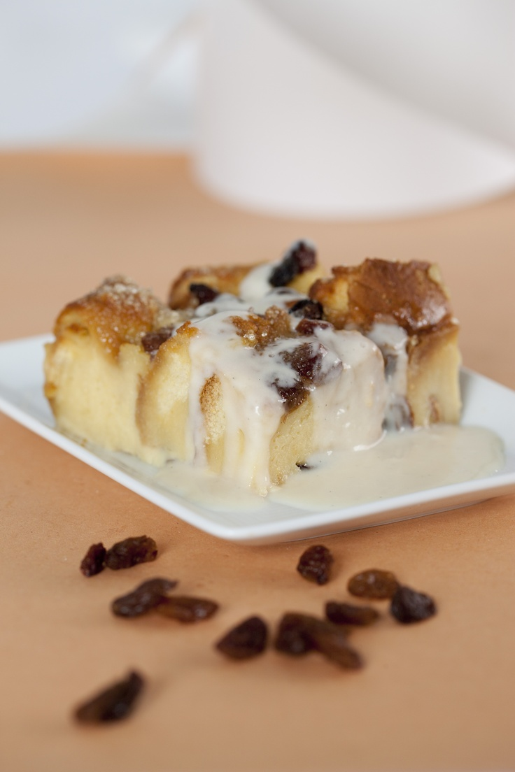 Luxury orange panettone bread & butter pudding from the English Cheesecake Company