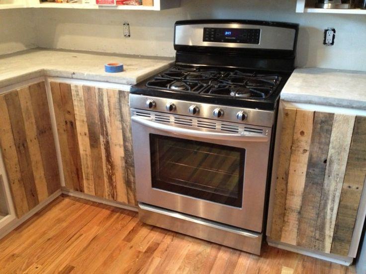 Muebles para la cocina hechos con madera de palets for Buscar muebles de cocina