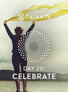 Being in the present moment is the best recipe for happiness, well-being, and excellence. Celebrate the opportunity to enrich your life with this practice that takes meditation into every facet of living. #MeditationChallenge #GaiamTV #MyYogaOnline