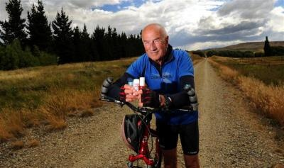 'Bit of a biker' 80-year-old does Otago Central Rail Trail in a day