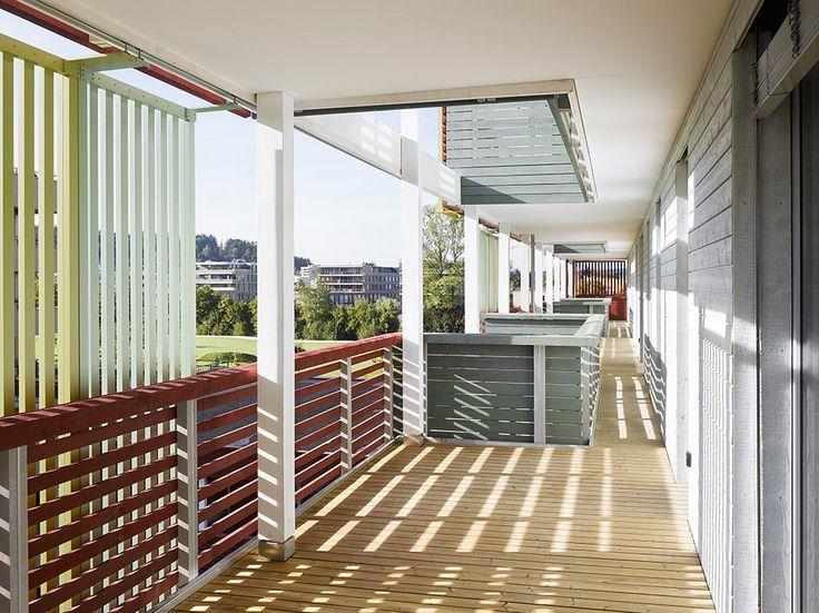 Mehrgenerationenhaus Giesserei, Winterthur/CH - proHolz Austria