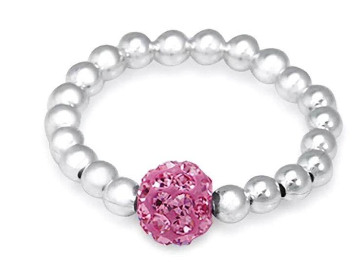 Pink Shambala Bling Ring