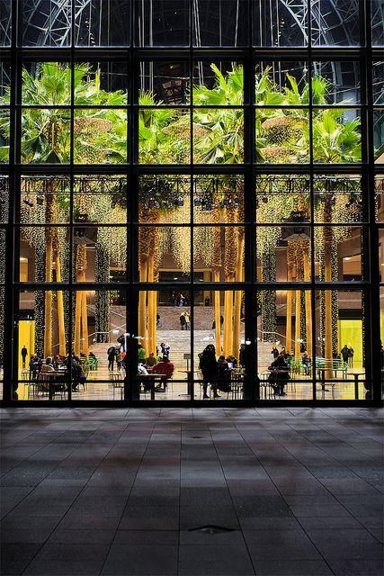 Tropical Winter Paradise World Financial Center Battery Park City New York #newyork, #NYC, #pinsland, https://apps.facebook.com/yangutu
