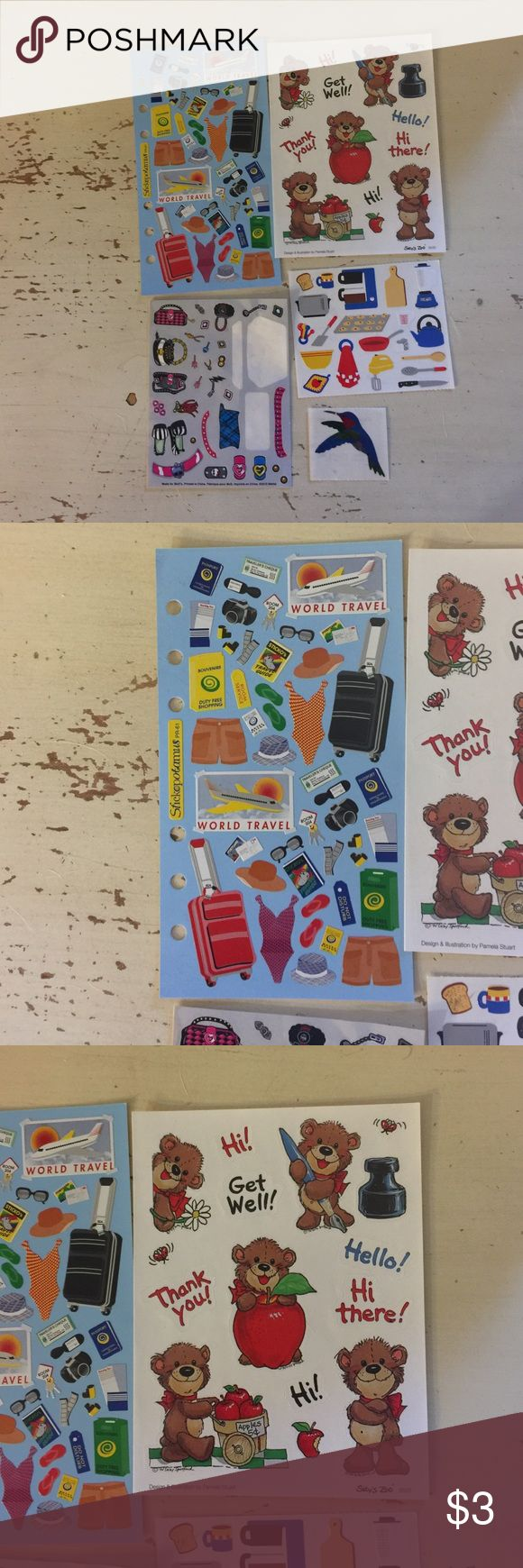 Scrapbook Sticker Bundle Small Scrapbook Sticker Bundle, for pages, journals, cards, or planners. See photos. Other