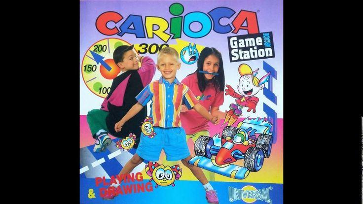 Carioca Game Station kifestő és színező készlet