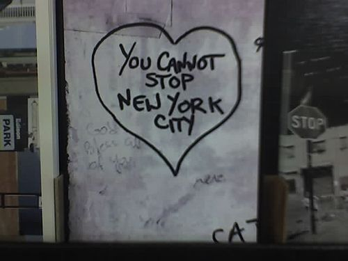 You cannot stop New York City.