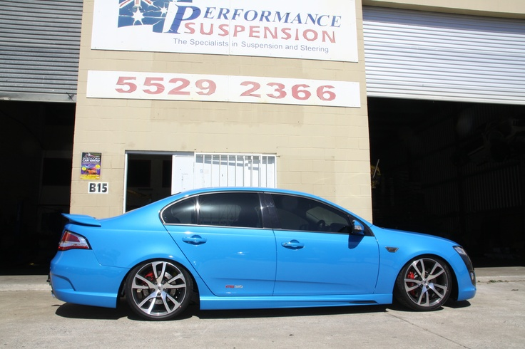 Ford Falcon FG Sedan Lowered with XYZ Coilovers