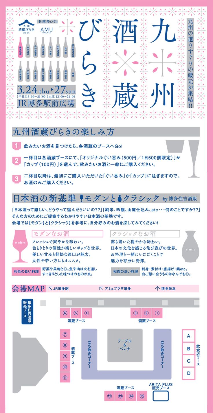 九州酒蔵びらき JR博多シティ アミュプラザ博多
