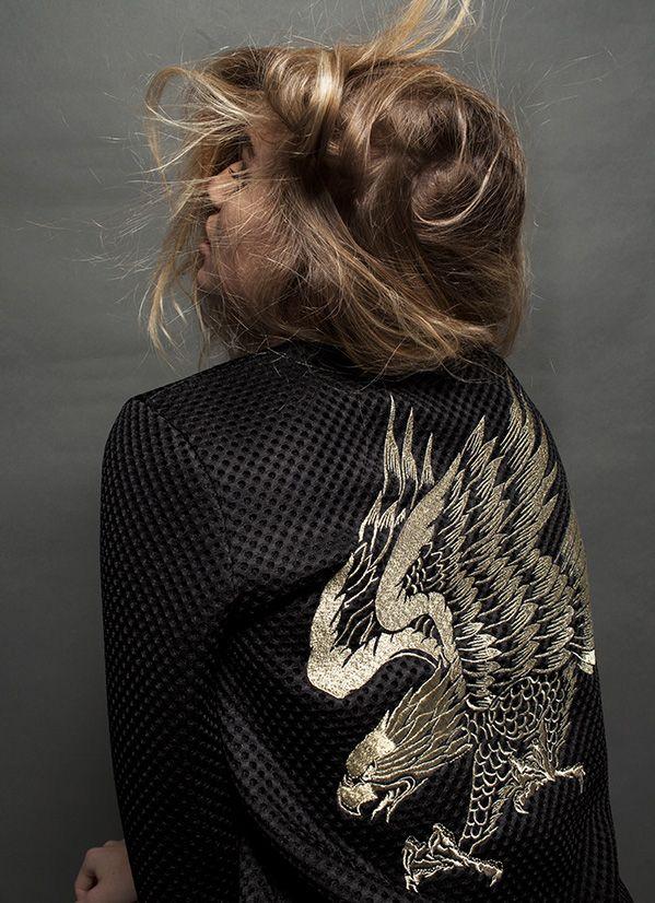 EAGLE BOMBER JACKET | Zoe Karssen