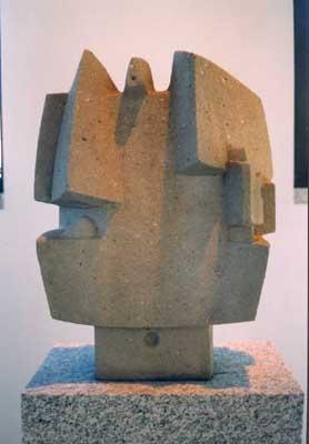 Costantino Nivola Maestro Muratore - Cemento - 1974  http://web.tiscali.it/museo_nivola/Museo/nivola031.html