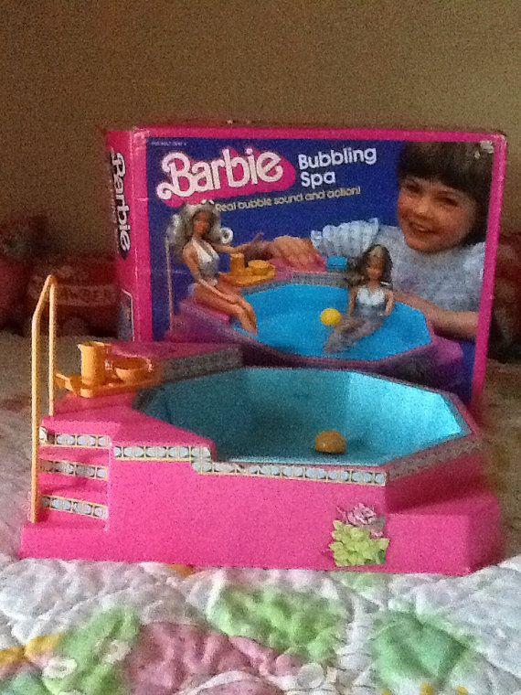 80s Barbie Bubbling Spa