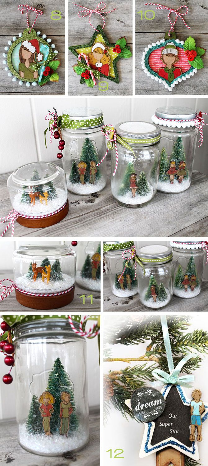 10-ways2 Wowsers! So many awesome ways to use @primamarketing wooden dolls and ornaments!!