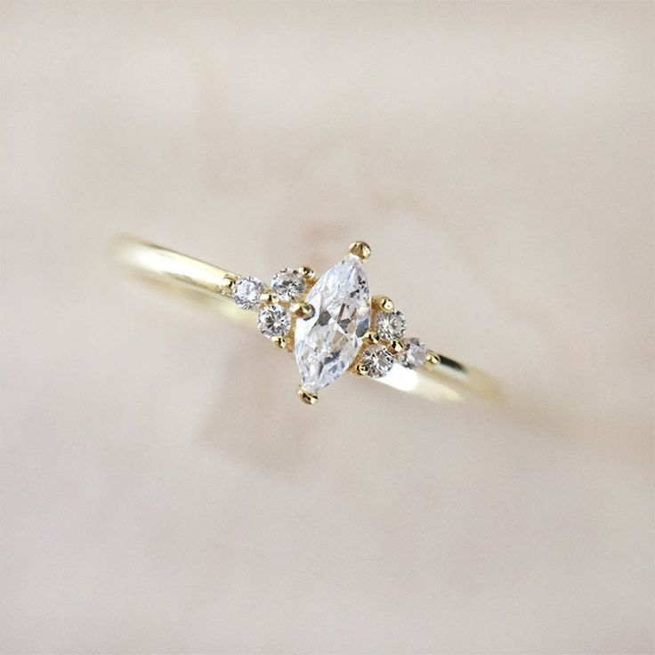 Best 25 Marquise Wedding Rings Ideas On Pinterest