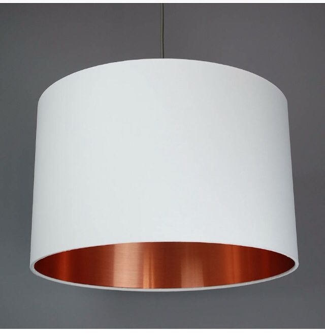 Lampshade with copper