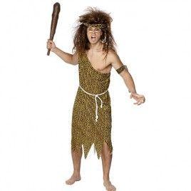 deguisement homme prehistorique fait maison