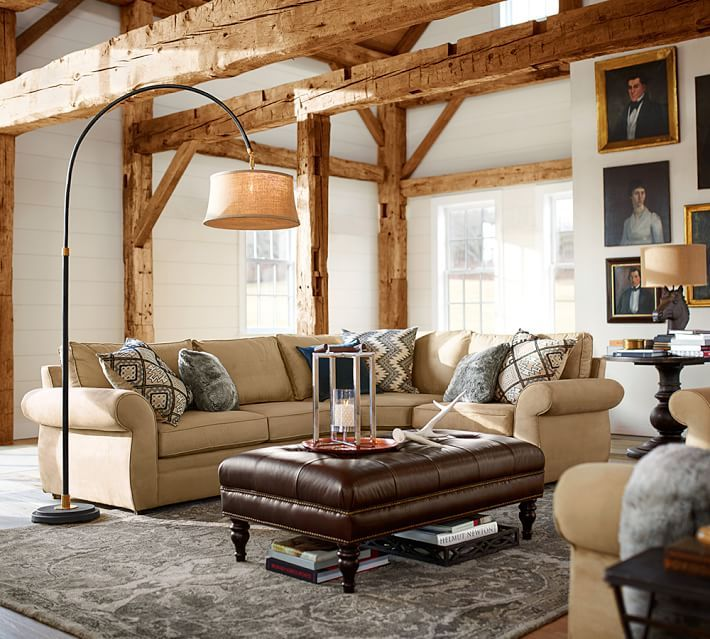 1000 Images About Pb Sectional On Pinterest Grey Wood