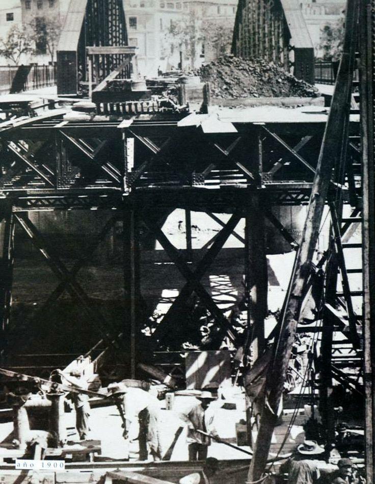 Puente Nuevo 1902 Construcción via museo huertano de murcia