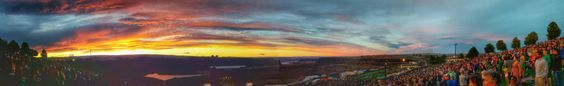 Spectacular sundown @ The Gorge Amphitheatre in George WA [OC] [7264x1120] via /r/SkyPorn http://ift.tt/1IGXzLP