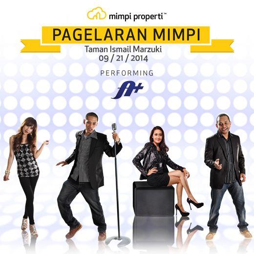 "Live Musik Performance dari @AplusMusic_ID meramaikan ""Pagelaran Mimpi"" diTaman Ismail Marzuki pada 21 September 2014"
