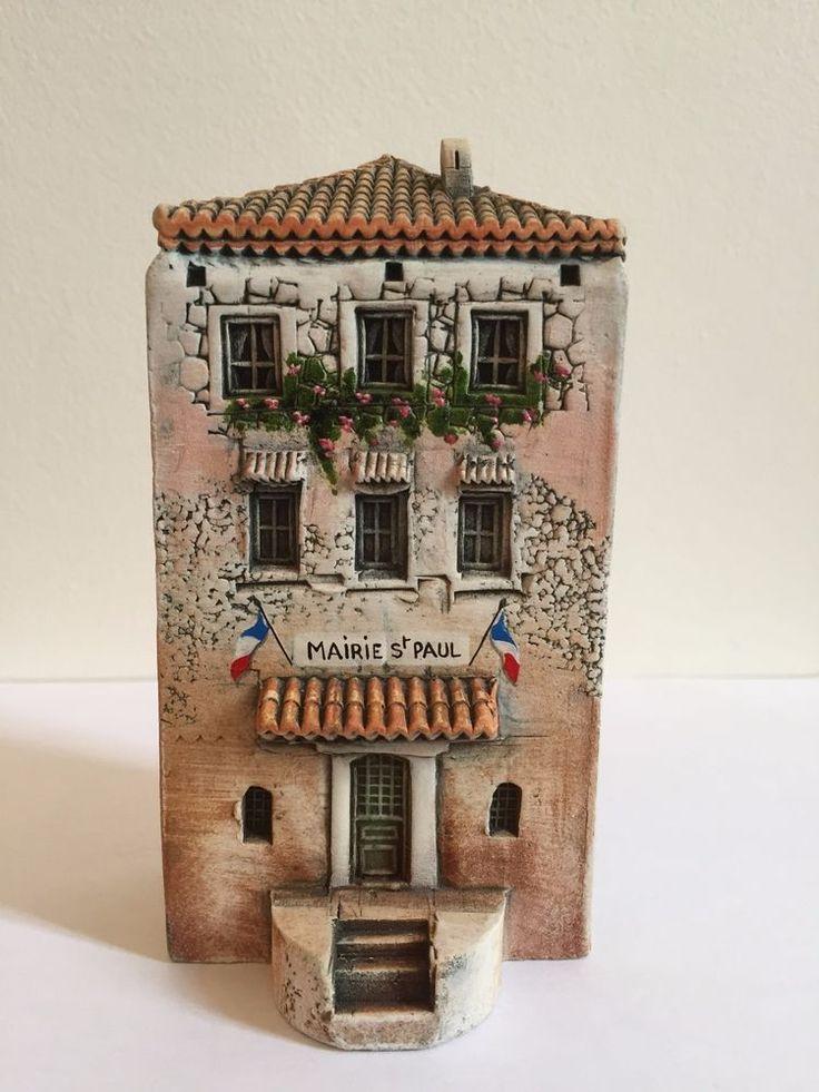 MINIATURE DOMINIQUE GAULT J CARLTON PARIS PROVENCE TOWN HALL BUILDING FRANCE