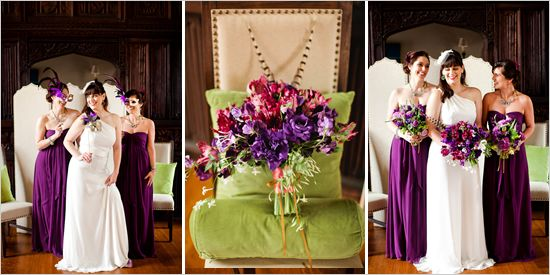 purple and gold wedding cakes | Purple And Gold Wedding Ideas | Fashion Vanity | read wedding hair ...