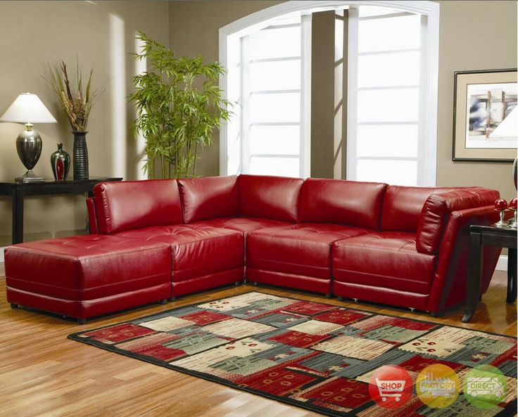 Red Leather Couch Love It!!! Getting It! Part 84