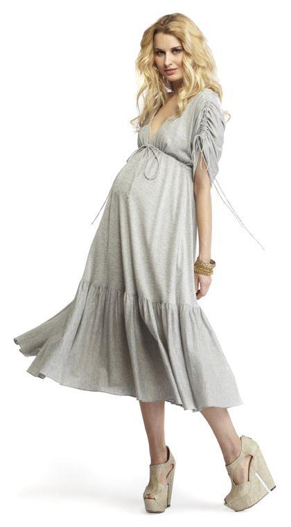 Pina Dress variation idea // boho dress from more of me maternity