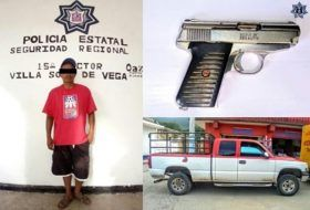 Por portación ilegal de arma de fuego, dos detenidos en las últimas horas