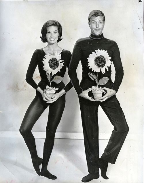 Dick van Dyke and Mary Tyler Moore for The Dick van Dyke show. °
