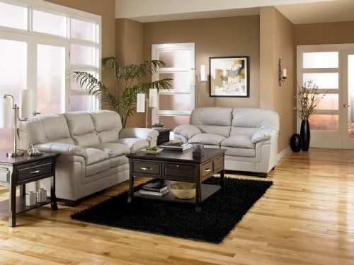 maguire iceberg living room set by signature design by ashley leather match upholstery