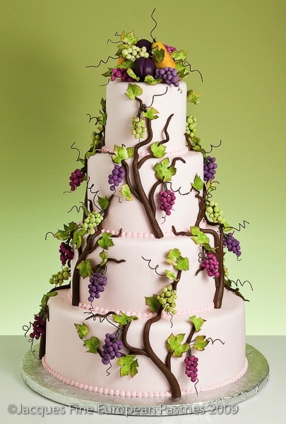 Napa Valley Nuptials by Jacques Fine European Pastries