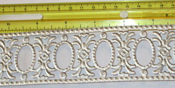 New Die cut dresden style flexible ornate metal filigree trim for doll houses dollhouses arts & crafts