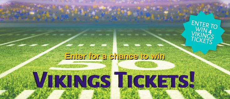 Check out the Vikings Tickets Contest from the Leader and Independent Review - I just entered here! www.crowrivermedia.com/vikingstickets