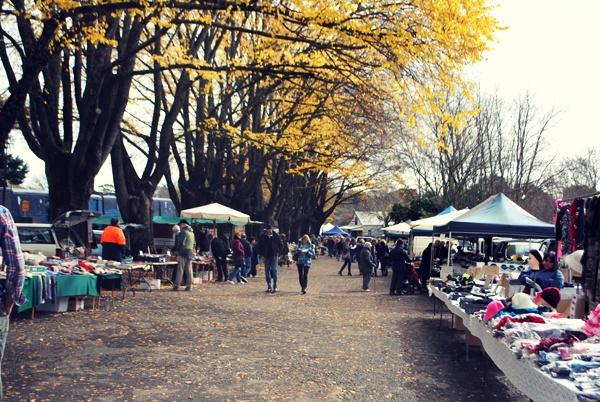 Daylesford Markets Victoria Australia