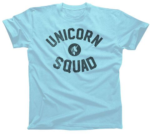 Men's Unicorn Squad T-Shirt. Assorted colors; $25.00 from #Boredwalk, plus free U.S. shipping! Click to purchase!
