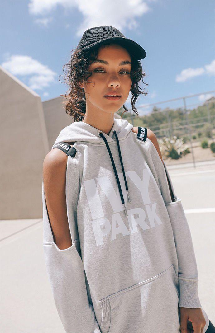 8c86b53cb Cold Shoulder Hoodie | hoodies I want | Hoodies, Ivy park, Cold shoulder