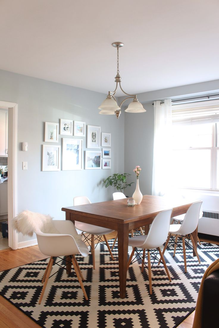 Home tour: Mid-century modern dining room