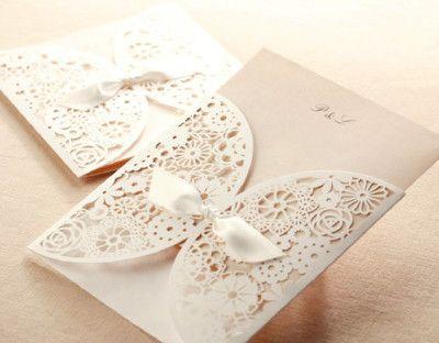 jolie faire part de mariage dentelle romantique jm623. Black Bedroom Furniture Sets. Home Design Ideas