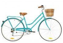 Bicicleta Paseo Mujer Reid Classic Plus 7V Aqua